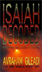 Cover of: Isaiah decoded