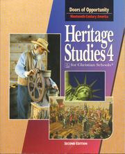Cover of: Heritage Studies 4 for Christian Schools: Doors of Opportunity:Nineteenth-Century America