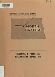 Cover of: Garrison study area report