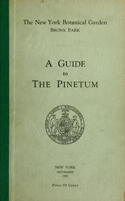 Cover of: A guide to the Pinetum