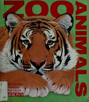 Cover of: Zoo animals