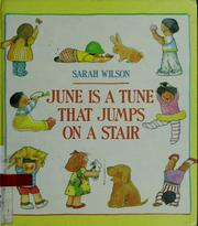 Cover of: June is a tune that jumps on a stair