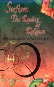 Cover of: Sufism, the reality of religion | Salaheddin Ali Nader Shah Angha