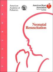 Cover of: Textbook of neonatal resuscitation | Ronald S. Bloom