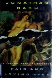 Cover of: Paid and loving eyes: a Lovejoy novel