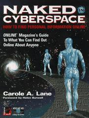 Cover of: Naked in cyberspace | Carole A. Lane