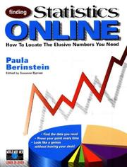 Cover of: Finding statistics online