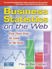 Cover of: Business Statistics on the Web