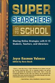 Cover of: Super searchers go to school