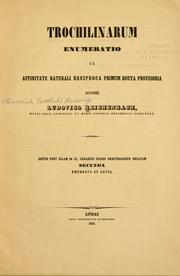 Cover of: Trochilinarum enumeratio