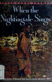Cover of: When the nightingale sings