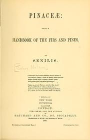 Cover of: Pinaceae