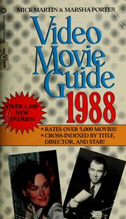 Cover of: Video Movie Guide 1988