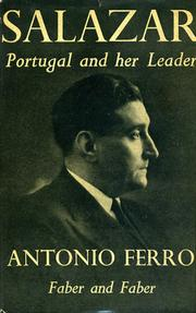 Cover of: Salazar: Portugal and her leader