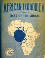 Cover of: African Ixodoidea