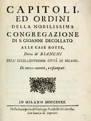 Cover of: Capitoli