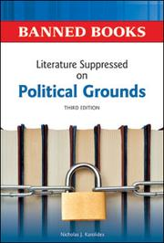 Cover of: Literature suppressed on political grounds by Nicholas J. Karolides