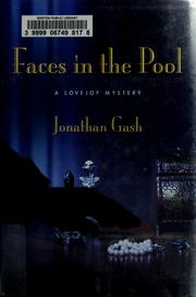 Cover of: Faces in the pool: a Lovejoy mystery