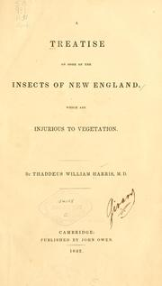 A treatise on some of the insects of New England
