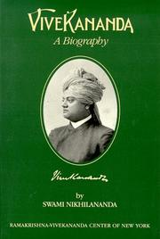 Cover of: Vivekananda | Nikhilananda