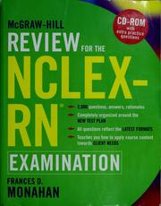 Cover of: McGraw-Hill review for the NCLEX-RN examination