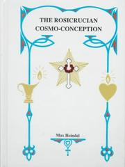 Cover of: Rosicrucian Cosmo-Conception | Max Heindel
