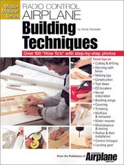Cover of: R/C airplane building techniques
