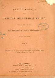 Cover of: Revision of the Tenebrionidae of America, north of Mexico