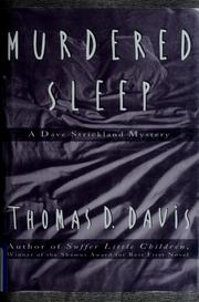 Cover of: Murdered sleep