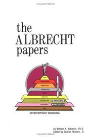 The Albrecht papers by William A. Albrecht