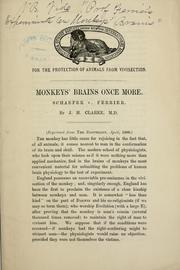 Cover of: Monkeys' brains once more