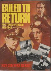 Cover of: Failed to Return