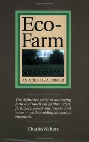 Cover of: Eco-Farm, An Acres U.S.A. Primer | Charles Walters