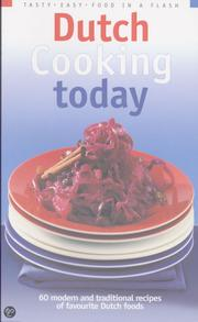 Cover of: Dutch Cooking today
