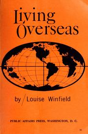 Cover of: Living overseas. | Louise Winfield