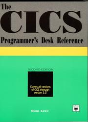 Cover of: The CICS programmer's desk reference