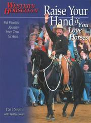 Cover of: Raise your hand if you love horses