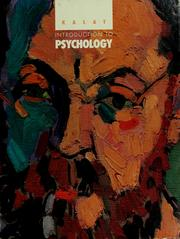 Cover of: Introduction to psychology | James W. Kalat