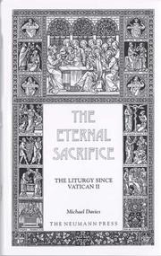 Cover of: The Eternal Sacrifice | Michael Davies