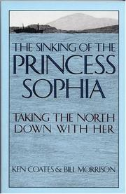 Cover of: The sinking of the Princess Sophia