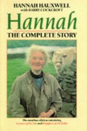 Cover of: hannan the complete story |