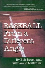 Cover of: Baseball from a different angle
