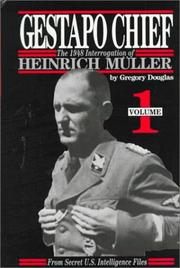 Cover of: Gestapo Chief  | Gregory Douglas