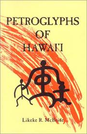 Cover of: Petroglyphs of Hawaii