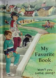 Cover of: My favorite book | Good Will Publishers