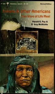 Cover of: Indians and other Americans | Harold Edward Fey, Harold E. Fey