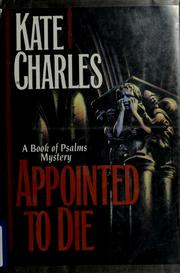 Cover of: Appointed to die