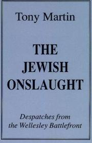 The Jewish onslaught by Martin, Tony
