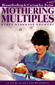 Cover of: Mothering multiples
