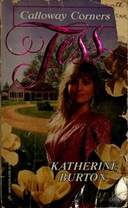 Cover of: Tess by Katherine Burton